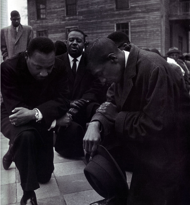 Dr. Martin Luther King took a knee also